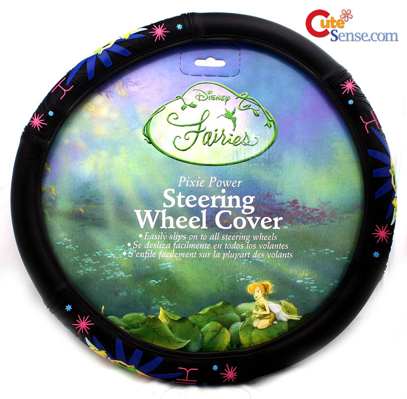 Tinkerbell Pixie Steering Wheel Cover Tinker Bell Car Auto