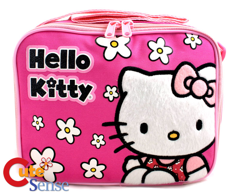 Hello Kitty Pink Lunch Bag Box at Cutesense.com
