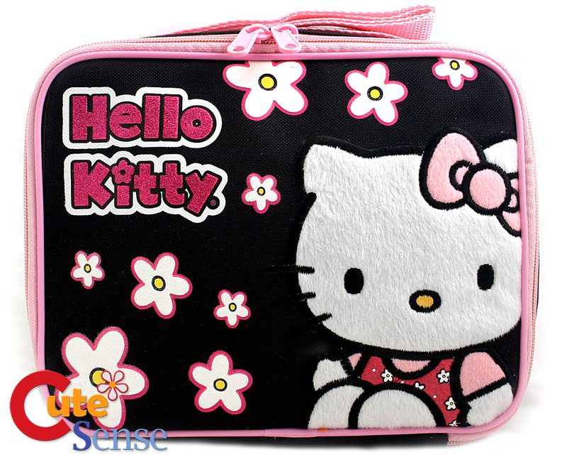 eBay.ph: Hello Kitty School LUNCH Box/Bag Snack Carry B/Pink (item