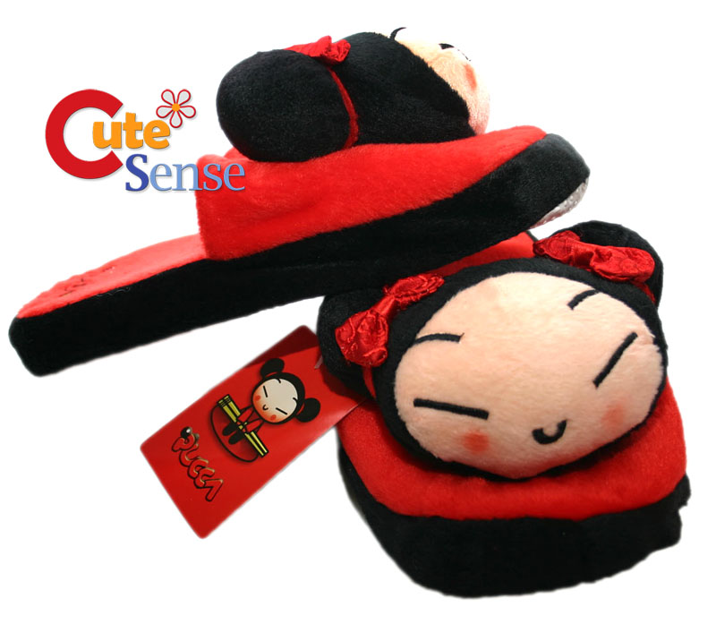 Pucca Plush Indoor Slipper : Size up to 7.5 at Cutesense.com