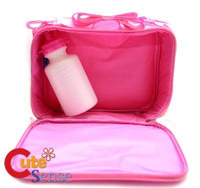 Care Bare Lunch Sanck Bag/Box PinkGrumpy & Love Bear
