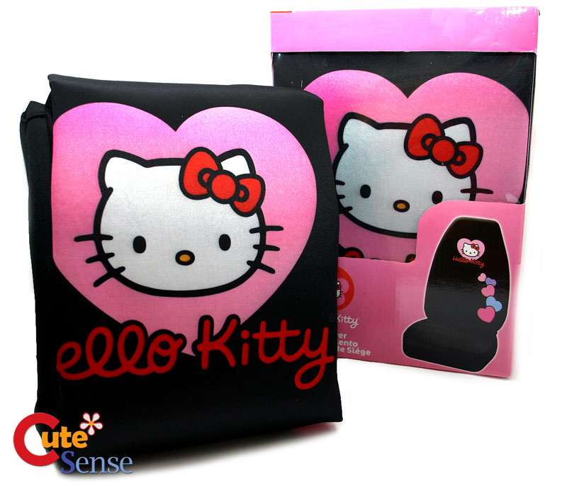 hello kitty car seat. Hello kitty Two Front Car Seat Cover at Cutesense.com