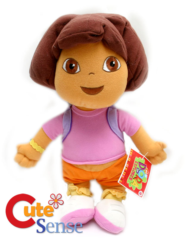 "Details about Dora the Exlpore Dora Plush Doll Toy -12"" Soft Stuffed: http://ebay.com/itm/dora-the-exlpore-dora-plush-doll-toy-12-034-soft-stuffed-/250669495443"