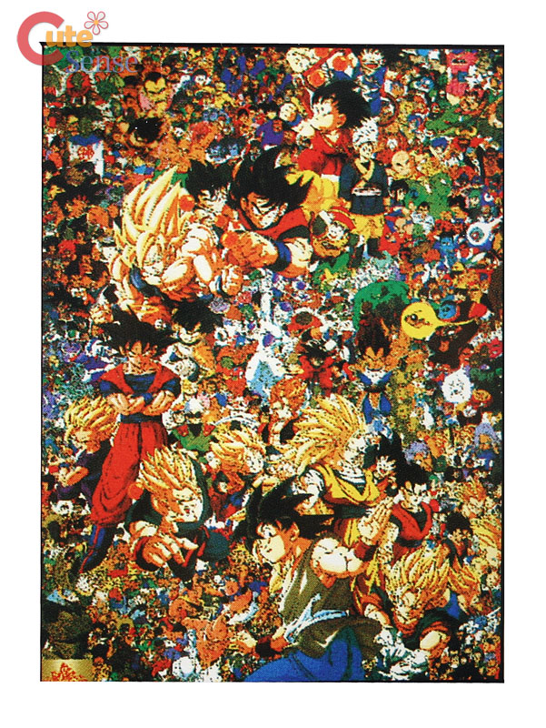Dragon Ball Wall Scroll All characters : LC-333 at Cutesense.com