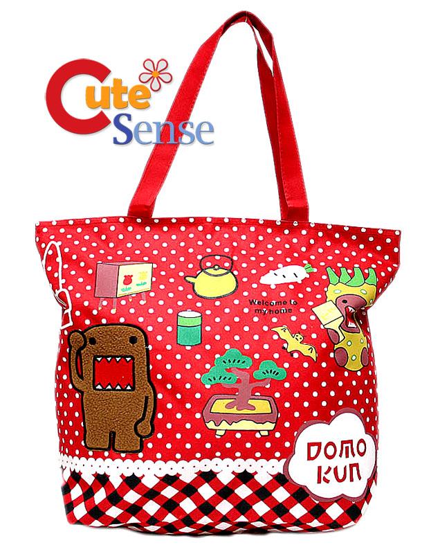 Domo-Kun Bag -Hand,Tote
