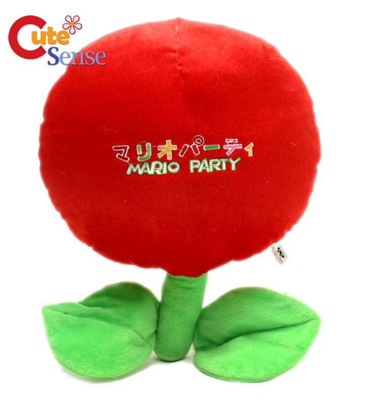 Super Mario Bros Fire Flower Plush Chusion Pillow 15