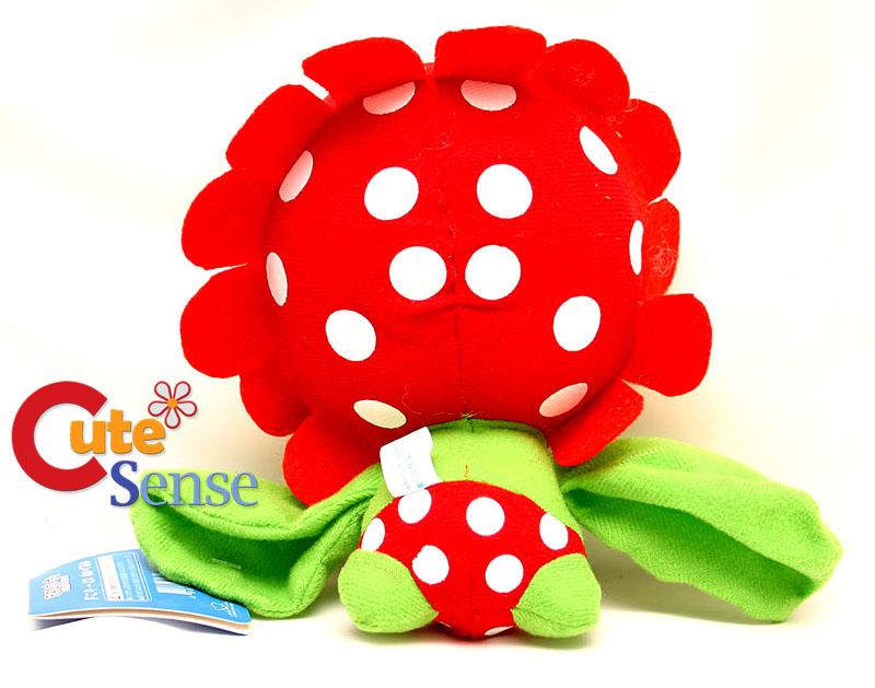Nintendo Super Mario Bros Petey Piranha Plush Doll 7in