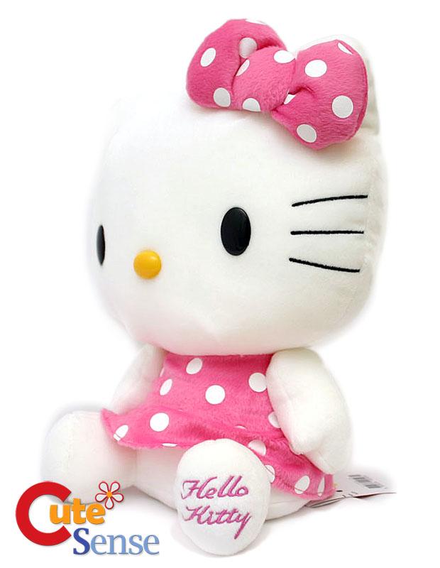 Sanrio Hello Kitty Logo. Sanrio Hello Kitty 13quot; Plush