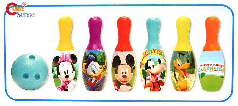 Disney Mickey Mouse Friends Kids Bowling Set Kids Sports Kit