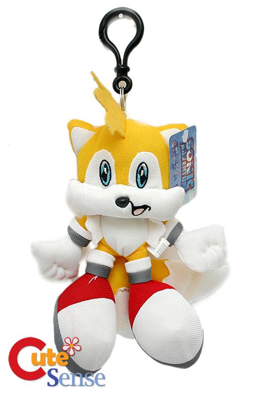 Sonic X Tails 7 Plush Doll Key Chain Holderlicensed On Popscreen