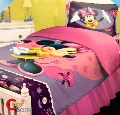 Toddler  Bedding Minnie Mouse on Disney Bedding  Mickey Mouse And Minnie Mouse Comforter Sets