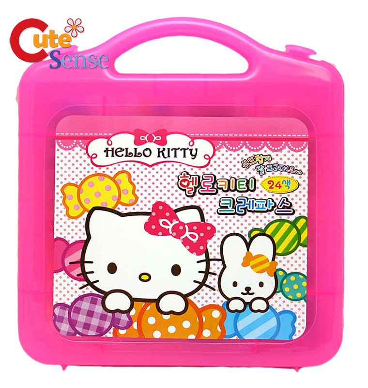 Hello Kitty Coloring Pages With Crayons : Hello kitty crayons cake ideas and designs