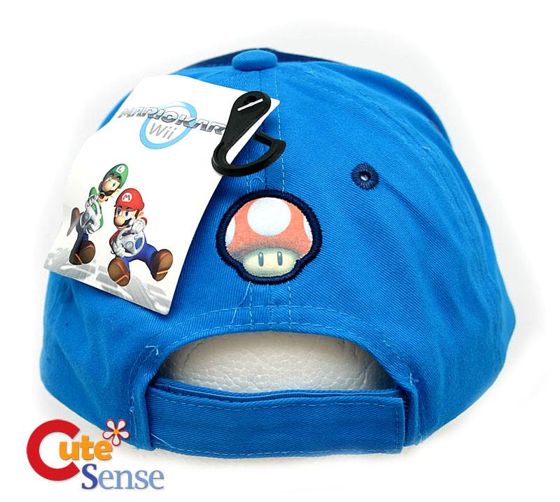 Nintendo Wii Super Mario Kart Adjust Baseball Cap Hat