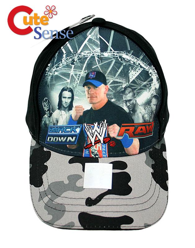 Wwe Wrestling John Cena Baseball Cap Hat Smack Down Ebay