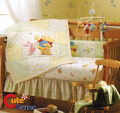 Winnie the pooh nursery bedding lamps furniture blanket rachael edwards - Cute winnie the pooh baby furniture collection ...