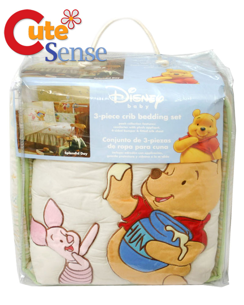 Pooh Toddler Bedding Set