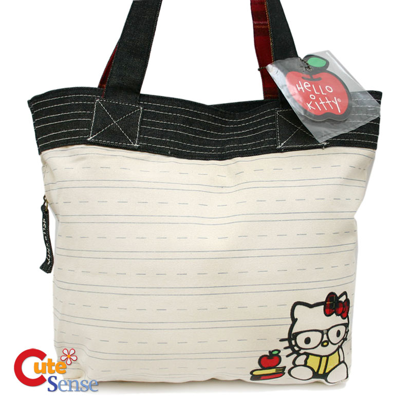 1a626774558e ... Sanrio-Hello-Kitty-Nerd-Hand-Bag-Tote-Shoulder-Canvas-Loungefly-4.jpg  ...