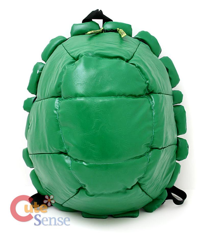 TMNT Ninja Turtle Shell Backpack Bag w/4 Mask *Pre-Order