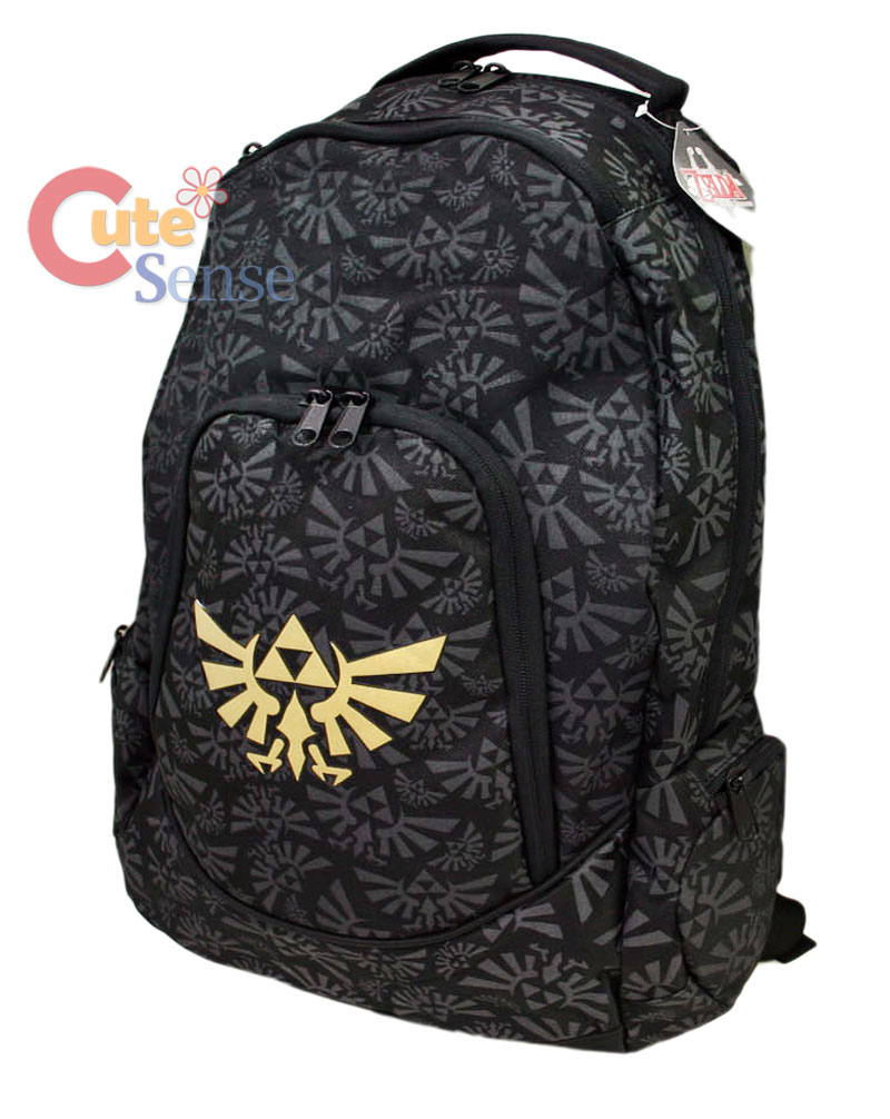 Nintendo The Legend of Zelda Triforce Backpack Bag on PopScreen 869f68c1e51ae