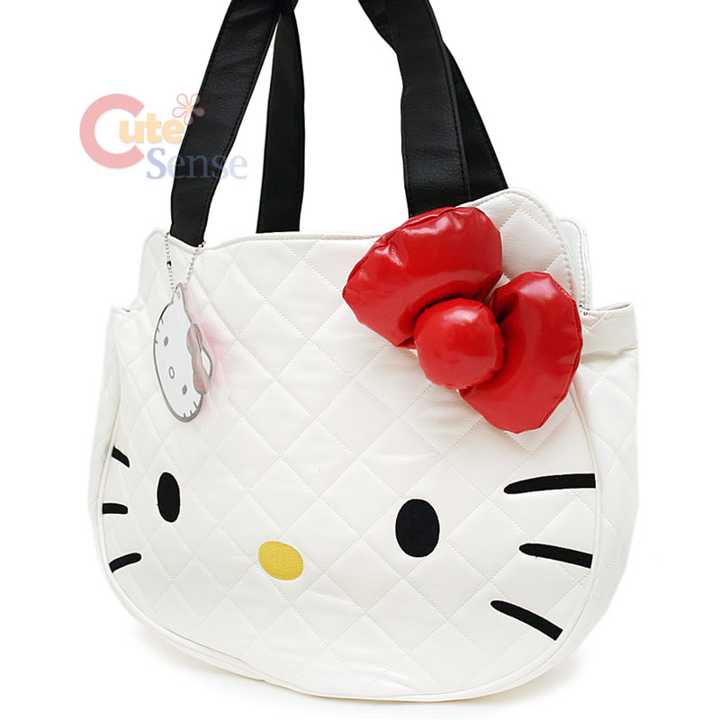 623b2a920 JJ ROG 81: hello kitty quilted face bag in white