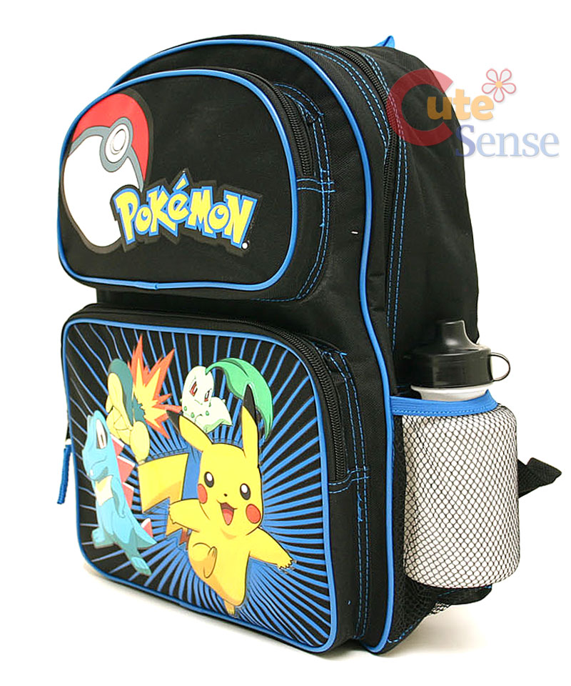 Details about Pokemon School Backpack with Lunch Bag Set -Medium Bag