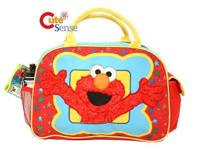 Sesame Street Elmo Duffle Bag Diaper Gym