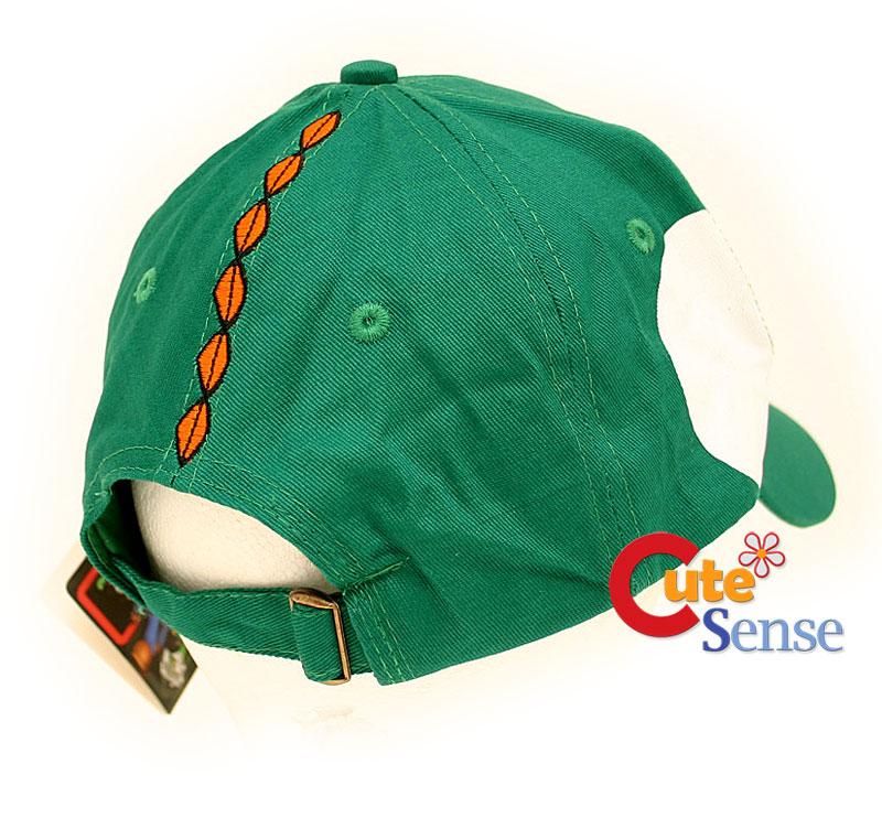 Nintendo Super Mario Green Yoshi Cap Hat 2
