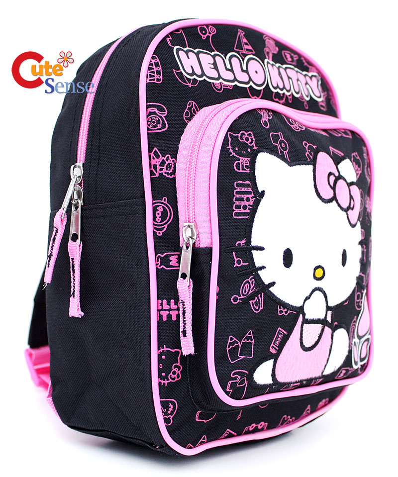Sanrio Hello Kitty School Backpack Toddler Bag:Tulip-B