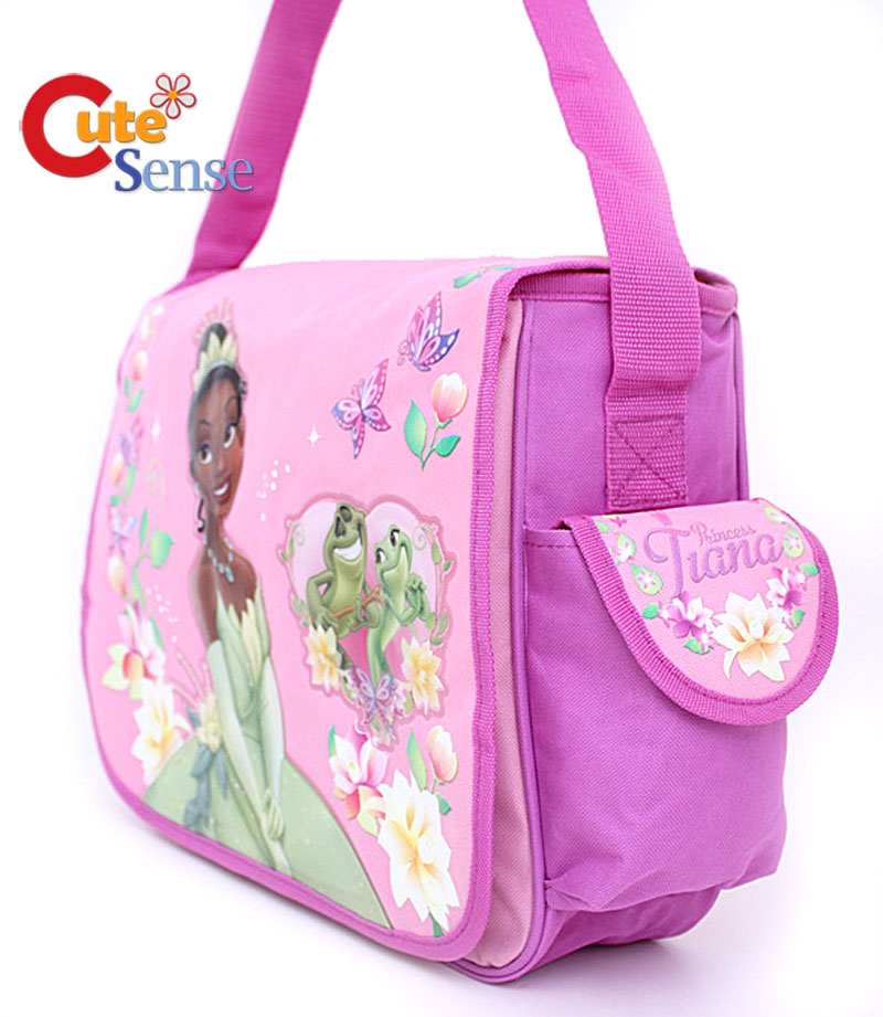 Princess Tiana Messenger Diaper Bag 2 Jpg