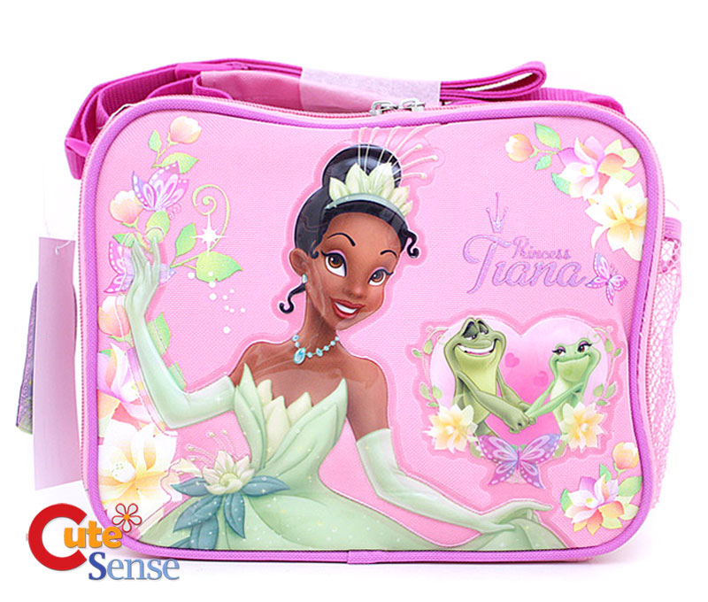 913a5525c9f Princess Tiana  Frog School Lunch Bag  Snack Carry Bag on PopScreen