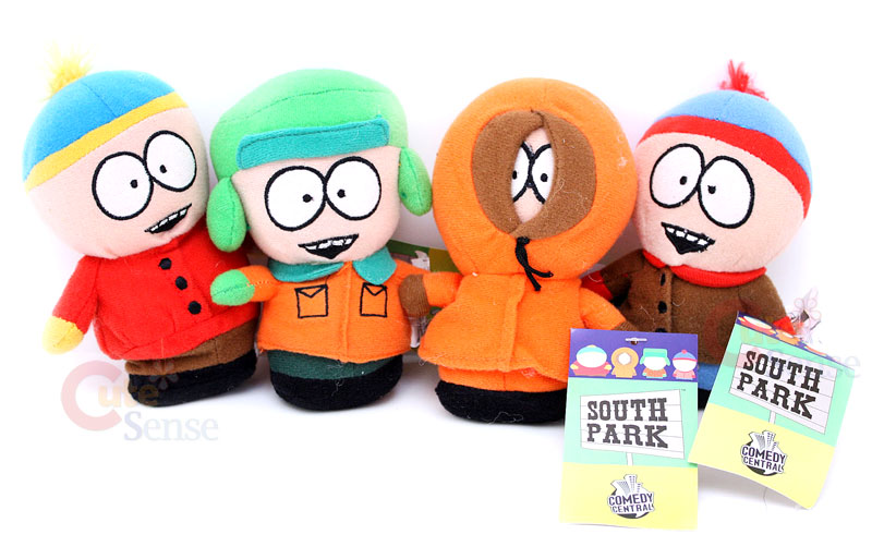 South Park beanies plush dolls set funko