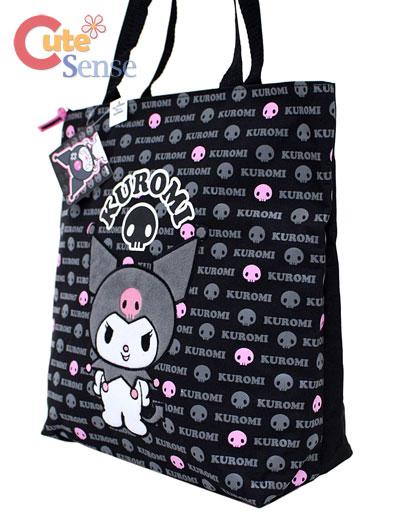 Shoulder Tote Bags on Sanrio Kuromi Tote Shoulder Bag At Cutesense Com