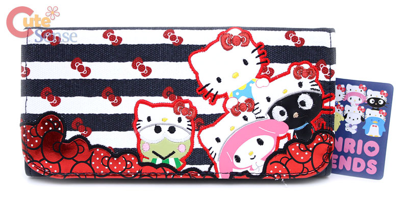 Sanrio Hello Kitty Friends 50th Anniversary Long Wallet - Loungefly at