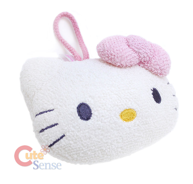 Sanrio Hello Kitty Face Bath Mitts/Soap SpongeLicensed