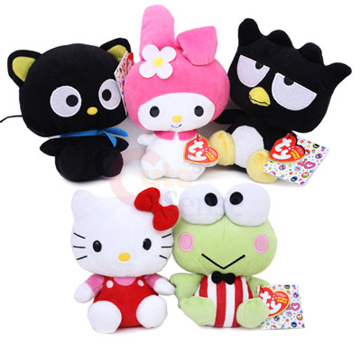 Sanrio Hello Kitty Friends 50th Anniversary Plush Doll Set -6in at