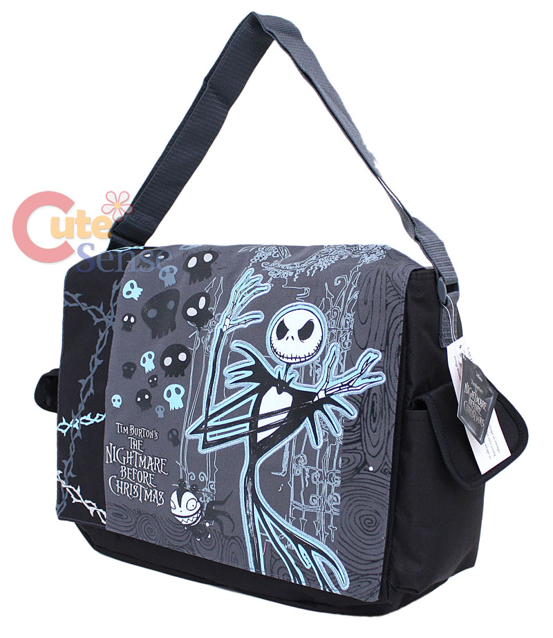 Details about Nightmare Before Christmas Shoulder Messenger Bag-Jack