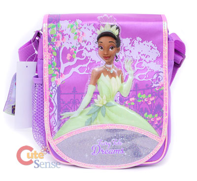 53c17590f35 Princess Tiana School Large Backpack Lunch Bag Set on PopScreen