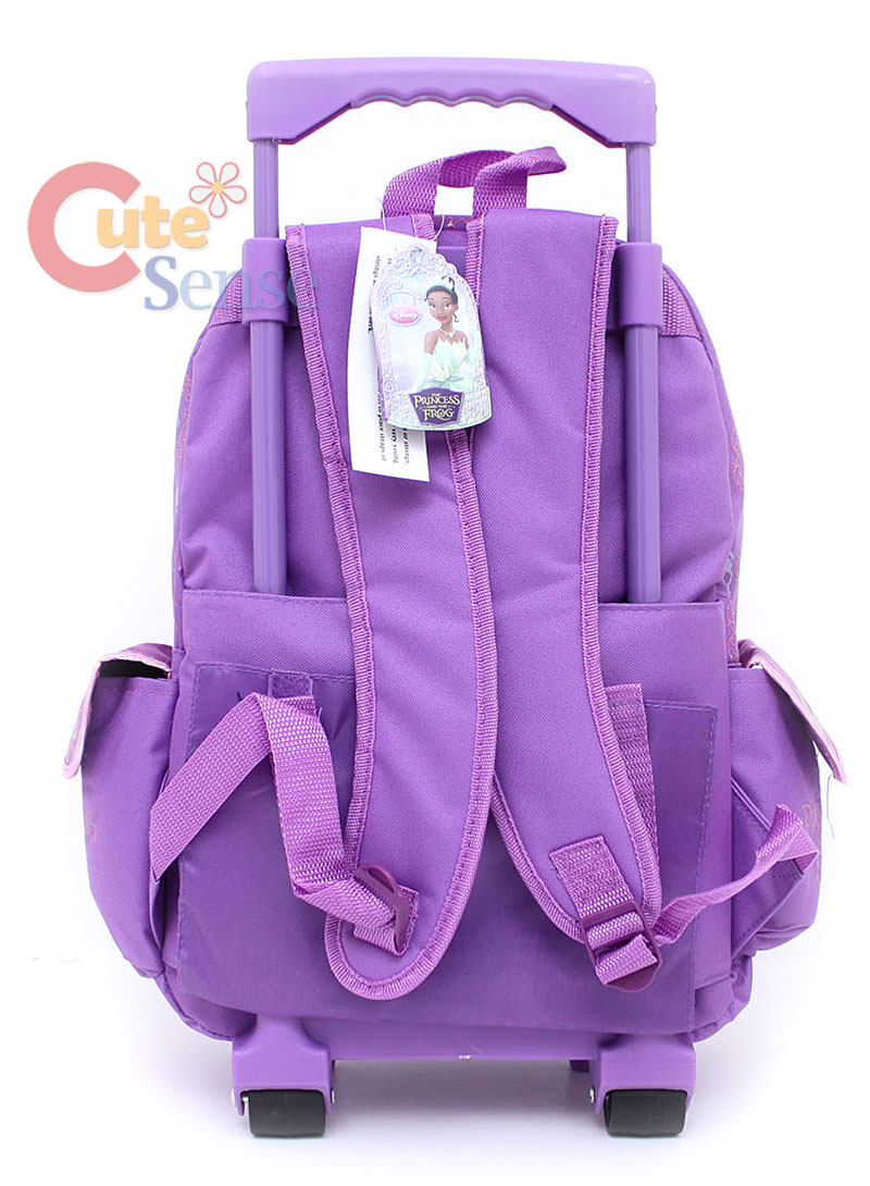 9d87fb81bfd Princess Tiana School Rolling Backpack Lunch bag 3 on PopScreen