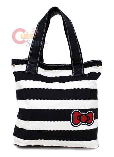 Sanrio Hello Kitty Tote Bag Red Bows  Loungefly License