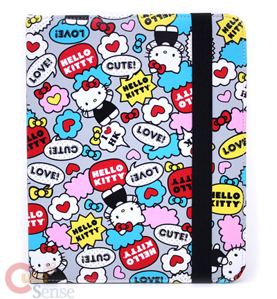 Sanrio Hello Kitty Apple iPad Cover: Comic
