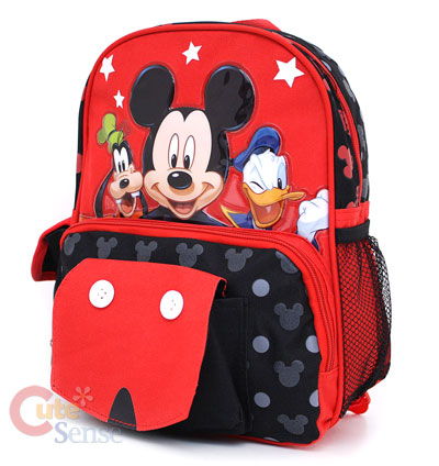 Disney Mickey Moouse Friends Shcool Backpack 2