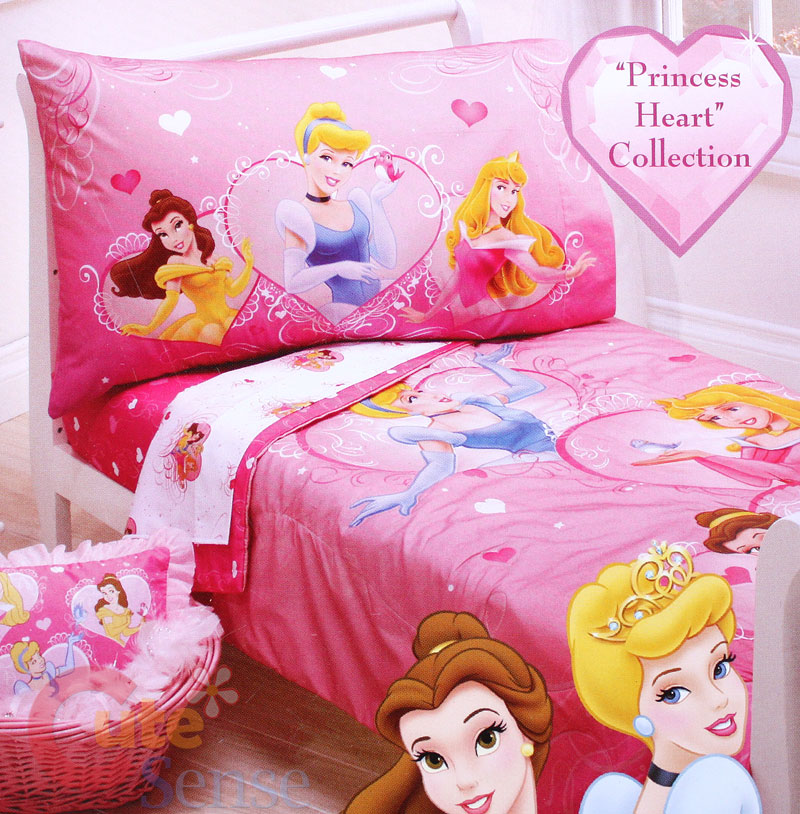 Princess toddler bed set princess toddler bedding