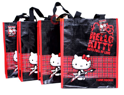 Hello Kitty Party Gift Bag Set  Reusable/License Large