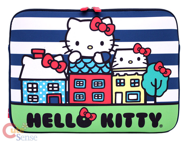 Hello Kitty Mac Book Case Laptop Formed Bag City