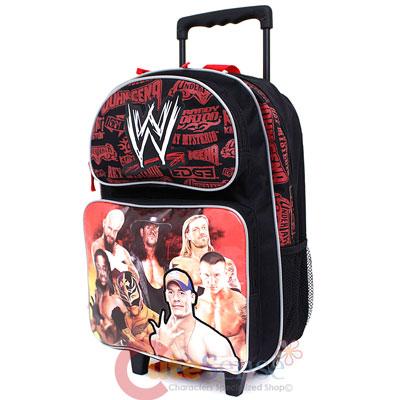 Wwe Wrestling School Rolling Backpack Roller Bag 16 Quot Large