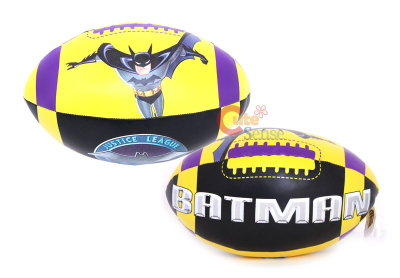 "Marvel Batman Soft Football Sports Ball 10"" Kids Toy"