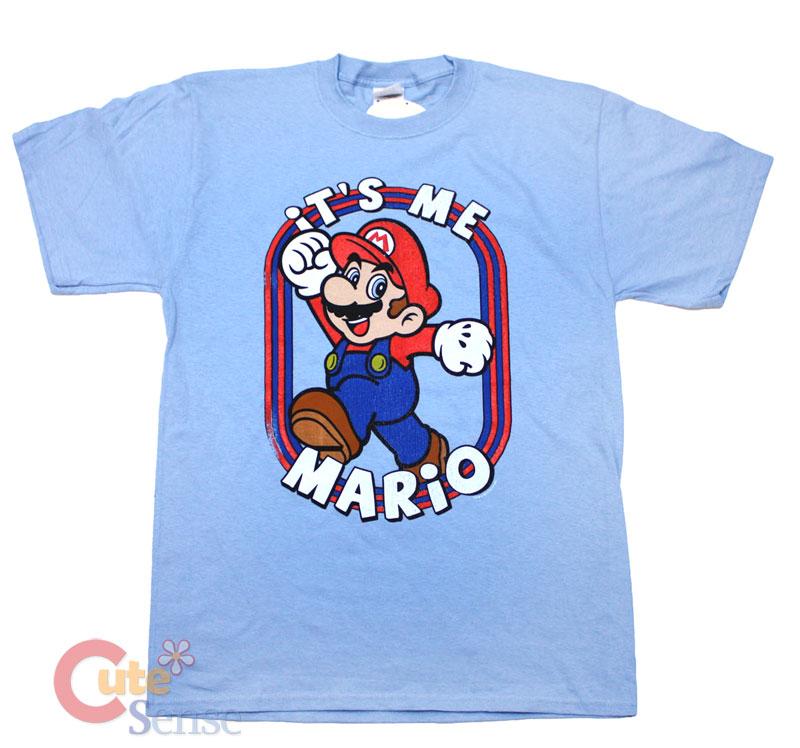 Nintendo Super Mario T Shirt Mne 39 S Game Tee It 39 S Me