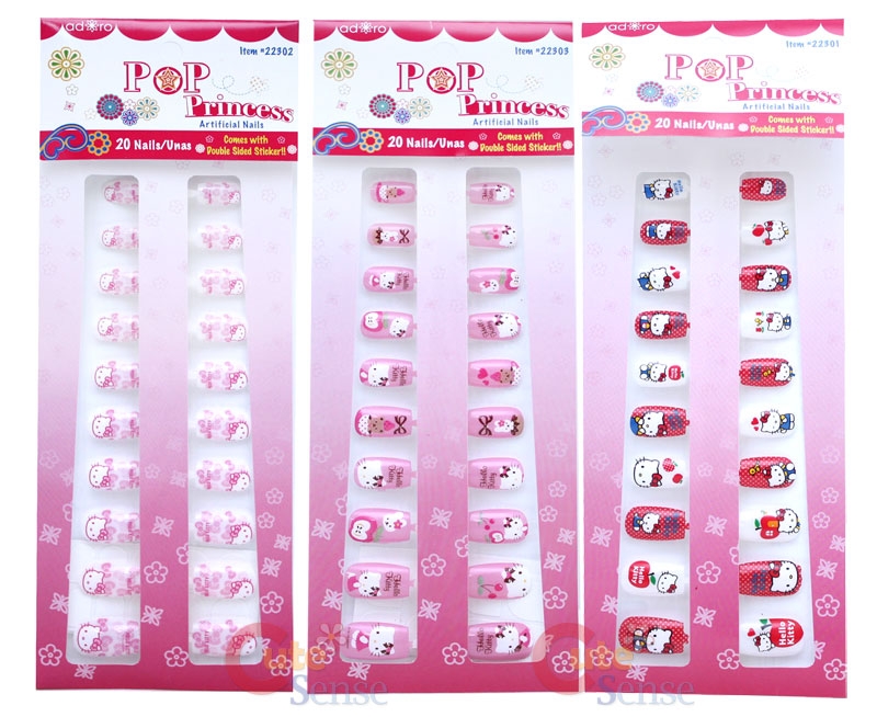cute hello kitty nail designs. Hello+kitty+nails+designs
