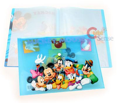 Disney Mickey Mouse Friends File Folder Stationery 1