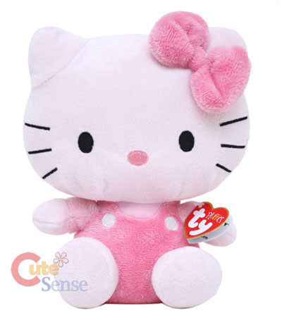 Sanrio Hello Kitty Plush Doll -Pink 9in